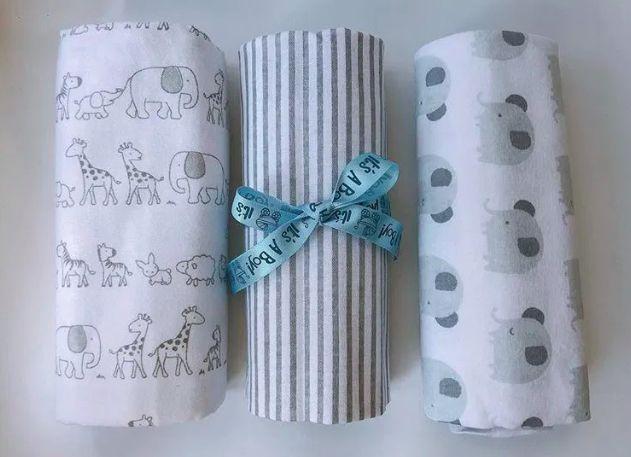 Хлопковые пеленки, пеленки для новорожденного