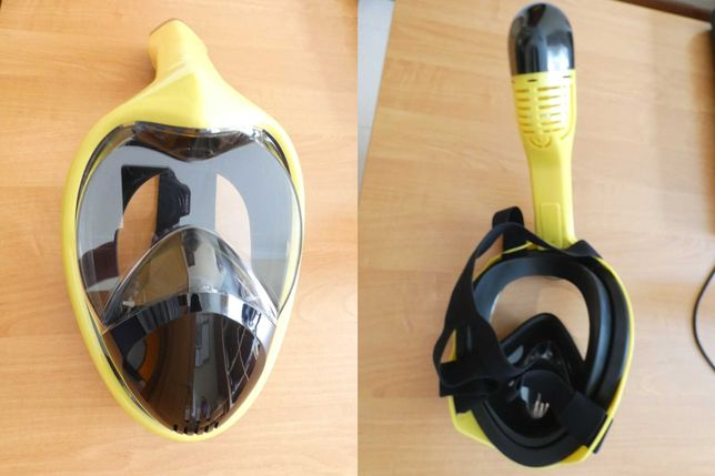 Máscara de Mergulho Snorkeling Profissional (NOVA)