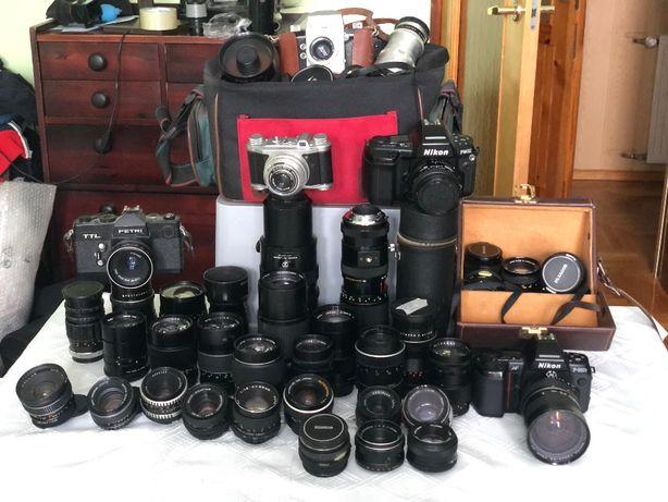 Obiektywy M42, Minolta, Canon, Nikon, Pentax, Carl Zeiss, Meyer Optik