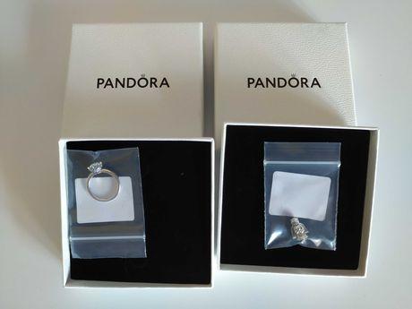 Pierścionek marki Pandora + gratis Charms Anioł Miłości