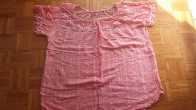 Koszulka ciążowa, duży rozmiar 48