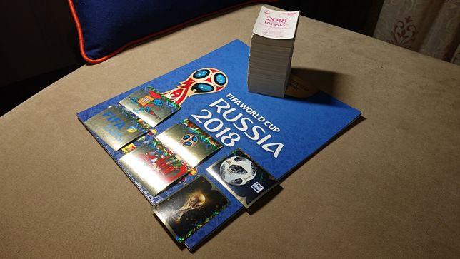 Сет из 515 стикеров Panini Russia Чемпионат мира 2018 + пустой альбом
