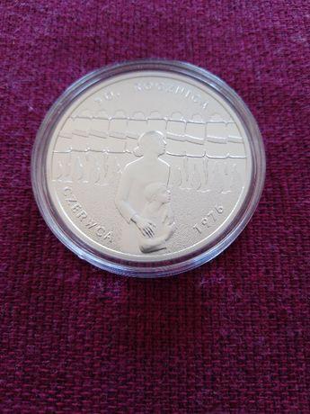 Moneta srebrna 10 zł 30.rocznica Czerwca 1976r.