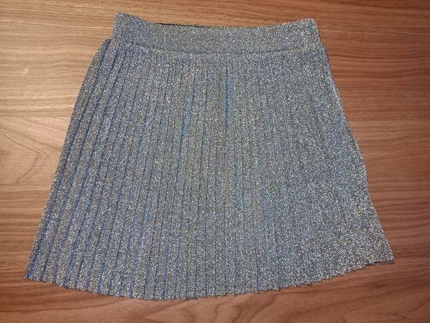 Spódniczka plisowana 134 cm