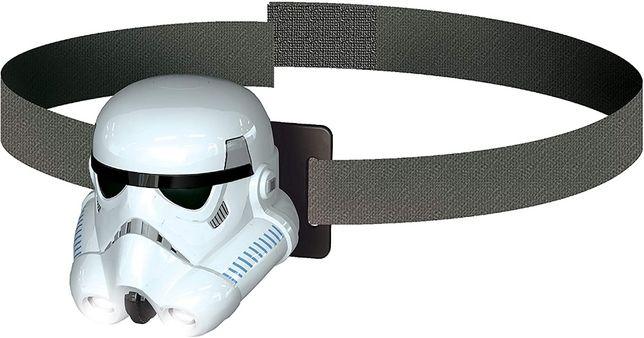 lanterna de cabeça star wars
