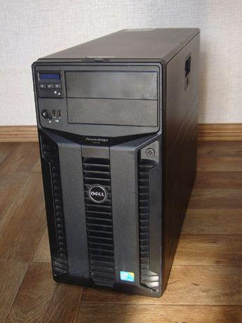 Сервер Dell PowerEdge T410 Xeon 2х2.4GHz/RAM24/HDD SAS 2x140Gb