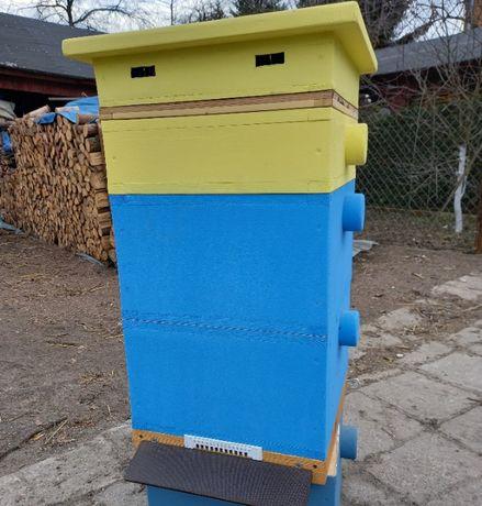 Ule, ul styrodurowy, pszczoły