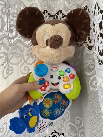 Zabawki myszka mickey, fisher price