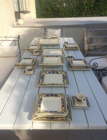 Serwis obiadowy w stylu Tiffany