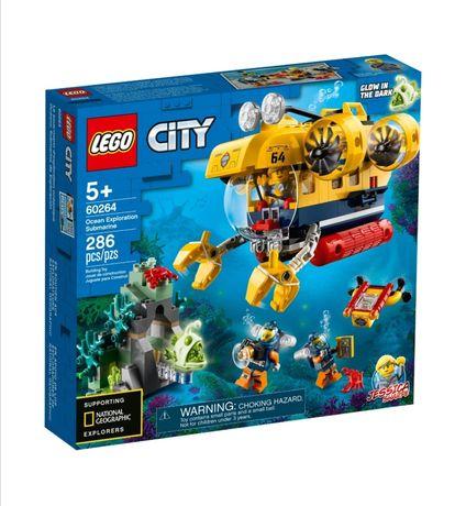 Океан исследовательская подводная лодка LEGO City 60264