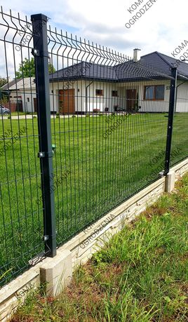 Ogrodzenie panelowe podmurówka panele ogrodzeniowe OD RĘKI * MONTAŻ *
