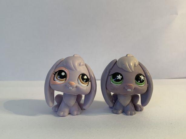 LPS Littlest Pet Shop - figurki króliczki