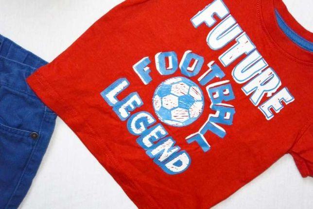 Rebel little Rebel Koszulka future football legend czerwona rozm 80