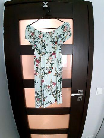 Sukienka w kwiaty S-L