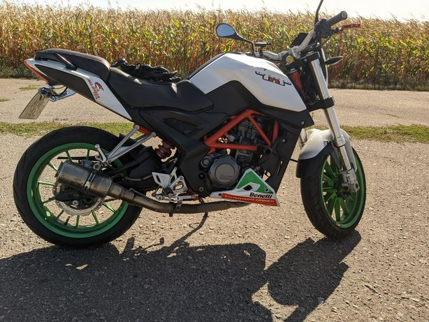 Продам мотоцикл Benelli TNT 25