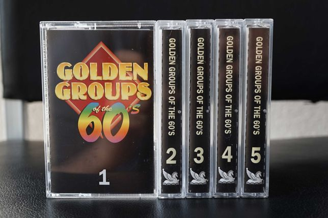 Golden Groups of the 60's - Casstes de Áudio: 1, 2, 3, 4 e 5