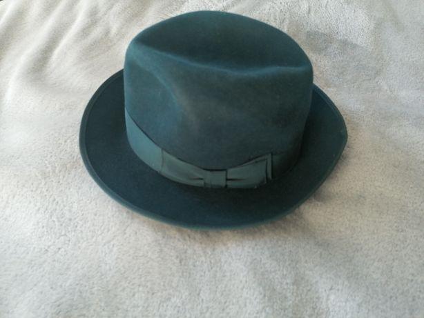 Stary Kolekcjonerski kapelusz Henry Cranford