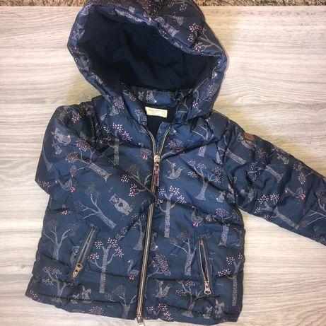 Куртка осень зима Zara old navy mango 88-92 92-98 2 года 1,5