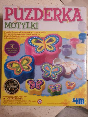 Puzderka motylki do pomalowania NOWE