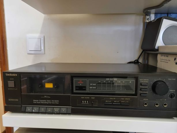 Deck de cassetes technics