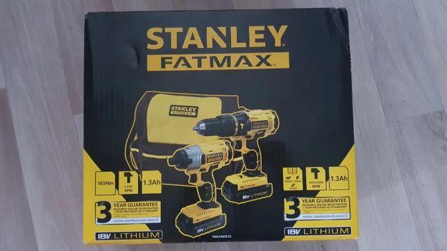 Zestaw narzędziowy 18V Stanley FatMax NOWY!!!