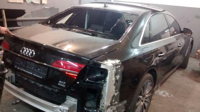 рихтовка алюминевых автомобилей , лазерная диагностика кузова на ст