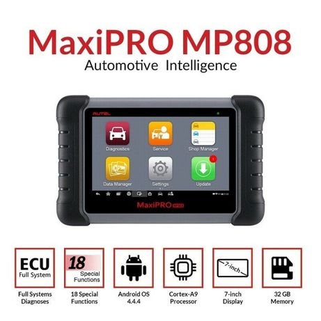 Máquina diagnóstico AUTEL Maxipro MP808 profissional