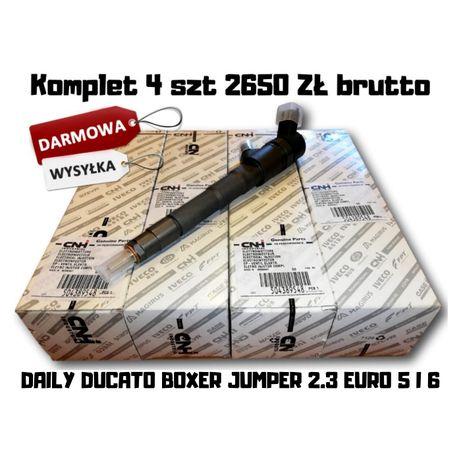 Wtryskiwacze Wtryski 4SZT DAILY DUCATO BOXER JUMPER 2.3 Oryginał NOWE!