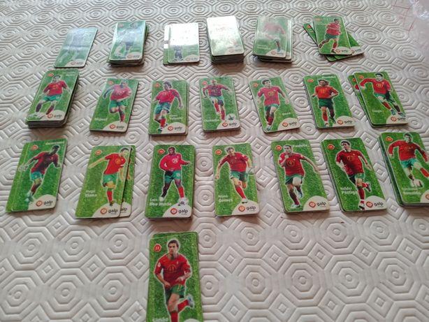 Magnetos Galp jogadores da seleção portuguesa.