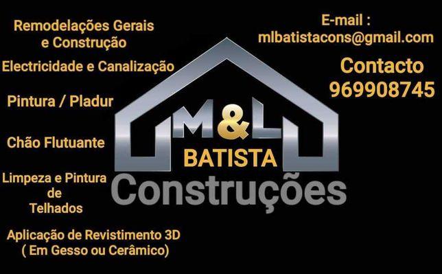 M & L Batista construções remodelações gerais