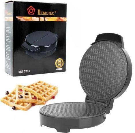 Новая вафельница Domotec Ms 7710 электровафельница 1000 Вт
