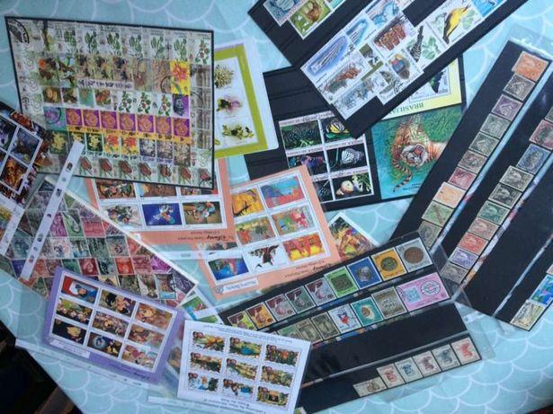Coleção de selos mundiais