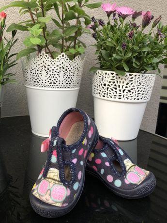 Pantofle buty dla dziecka dziewczynki 3f rozmiar 20