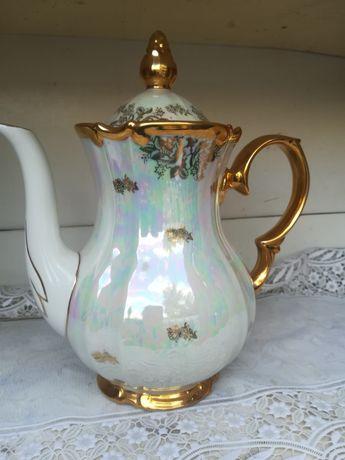Большой заварочный чайник,Гдр,клеймо .