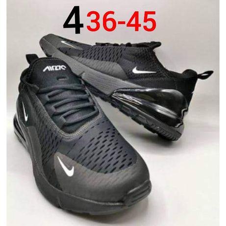 Nowe czarne damskie adidasy nike 36,37,38,39,40,41,42,43,44,45