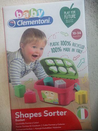 Clementoni koszyk kształtów i kolorów sorter