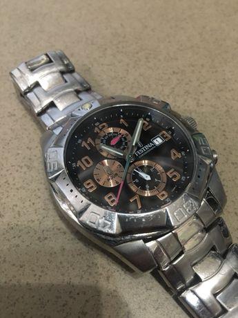 Zegarek męski srebrny Festina F16286! Okazja