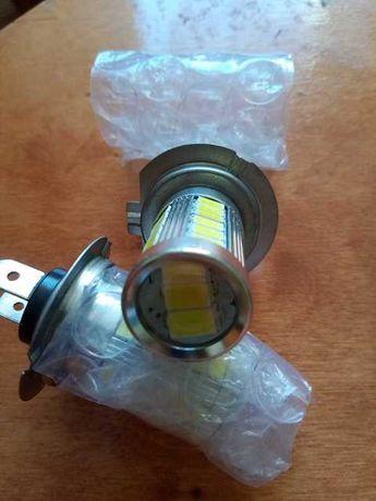 Żarówki H7 LED 12 V.