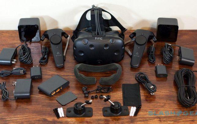 Oculus htc vive mais de 250 jogos e Deluxe audio