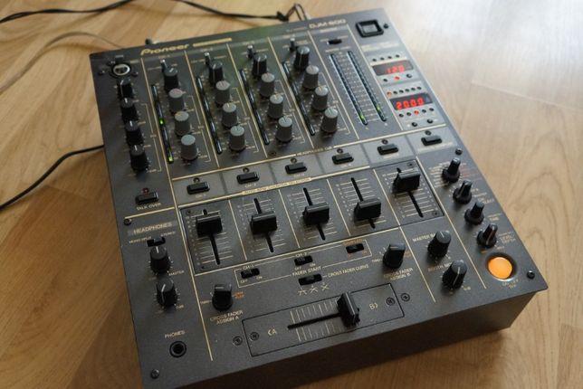 Mikser Pioneer DJM 600, Konsoleta, Mikser dla DJ,