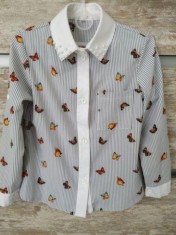 Блуза для дівчинки Розмір:128