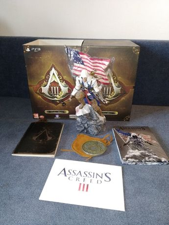 Assassin's Creed III - edycja kolekcjonerska + MEDALION   IDEAŁ