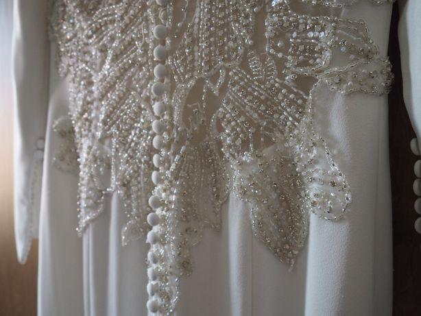 Ponadczasowa suknia ślubna Justin Alexander