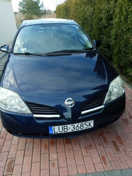 Nissan Primera 2006r. Pierwsza rejestracja 2007r. 1800cm3 Benzyna+Gaz.