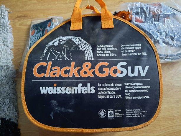 Sprzedam łańcuchy Weissenfels Clack&Go SUV
