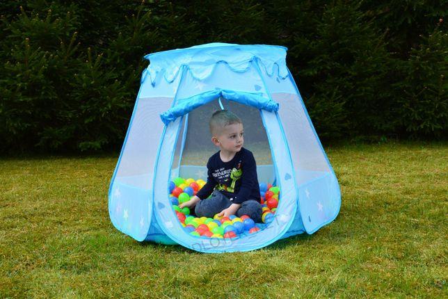 Namiot dla dzieci suchy basen domek kojec z piłeczkami