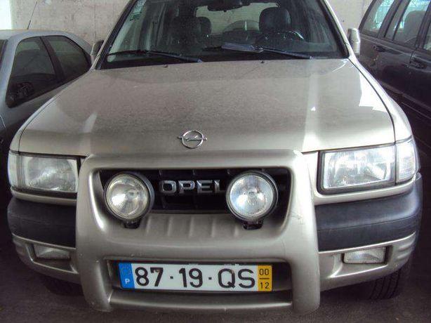 Opel frontera B 2/4 portas para peças