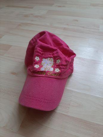 Różowa czapeczka z daszkiem hello kitty