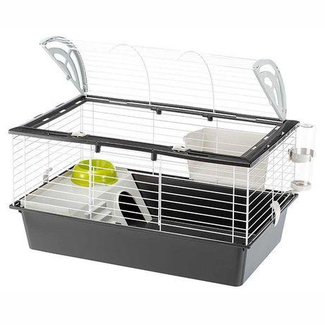 Клетка для кроликов, морских свинок CASITA 80 Ferplast (Италия) c едой
