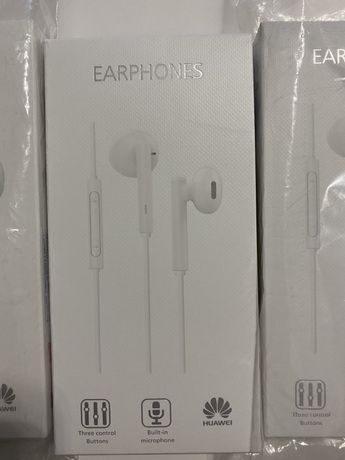słuchawki douszne huawei earphones AM115 NOWE